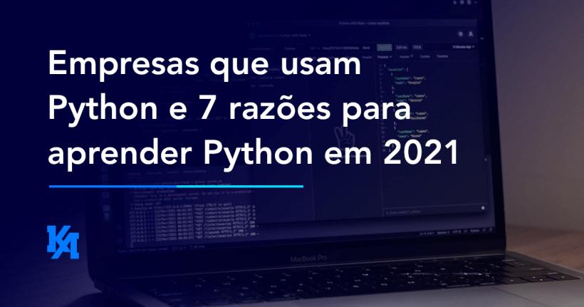 Empresas que usam Python